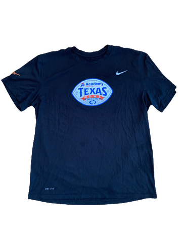 "Tim Yoder Texas Football Team Issued ""Texas Bowl"" Shirt (Size XL)"