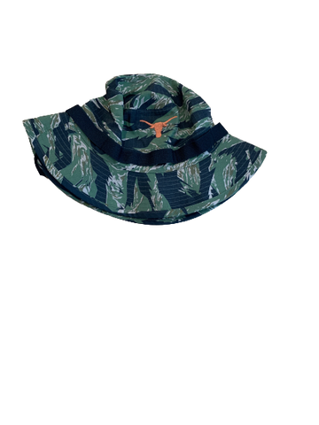 Tim Yoder Texas Football Team Issued Bucket Hat