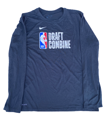 Desmond Bane Player Issued NBA Combine Long Sleeve Shirt (Size XL)