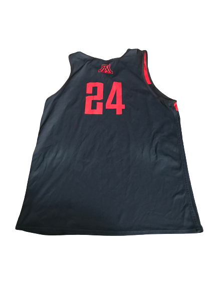#24 Arizona Basketball Reversible Practice Jersey (Size L)