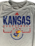 Tyshawn Taylor Kansas Basketball Adidas Long Sleeve Shirt (Size L)