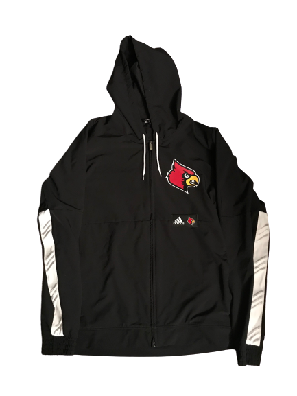 Jordan Nwora Louisville Adidas Team Issued Jacket (Size XL)