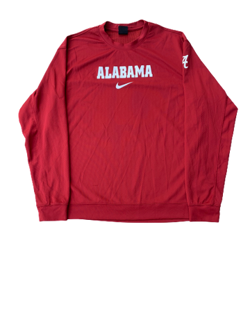 James Bolden Alabama Basketball Nike Long Sleeve (Size M)
