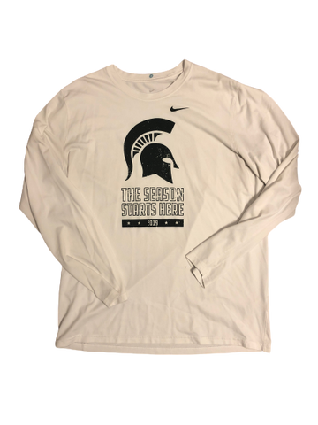 Kyle Ahrens Michigan State Basketball Champions Classic NIKE Long Sleeve
