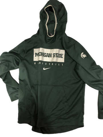 Kyle Ahrens Michigan State Basketball Team Issued NIKE Hoodie