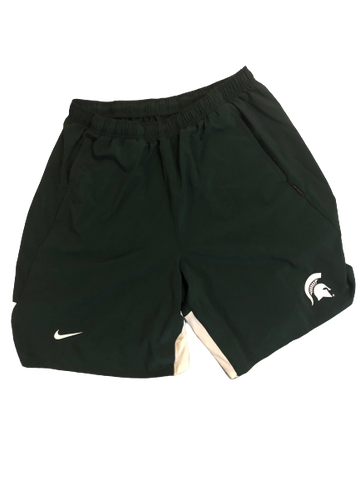 Kyle Ahrens Michigan State Basketball NIKE Training Shorts