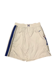Mike Parks Jr. Game Worn White Shorts