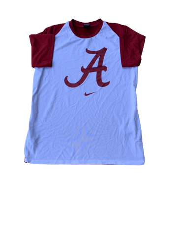 James Bolden Alabama Basketball Pre-Game Shooting Shirt (Size M)