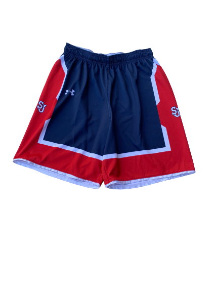Mustapha Heron St. John's Under Armour Practice Shorts (Size L)