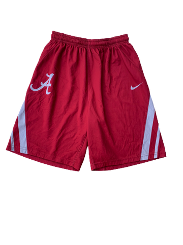 James Bolden Alabama Basketball Practice Shorts (Size M)