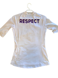 "Jamal Wright High Point Basketball ""Respect"" Workout Shirt (Size M)"