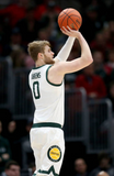 Kyle Ahrens Michigan State Basketball Game Worn Shorts (Final Four and B1G 10 Tournament)