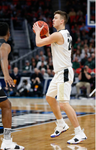 Grady Eifert Purdue Basketball 2018 March Madness Game-Worn Sneakers (3/18/18)