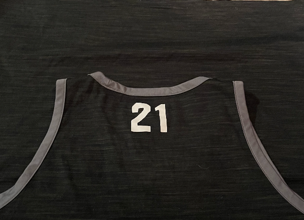 Fredddie McSwain Indiana Basketball Team Issued Tank with Number on Back (Size XL)