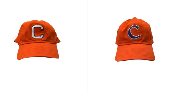 Patrick McClure Clemson Football Set of (2) Team Issued Hats