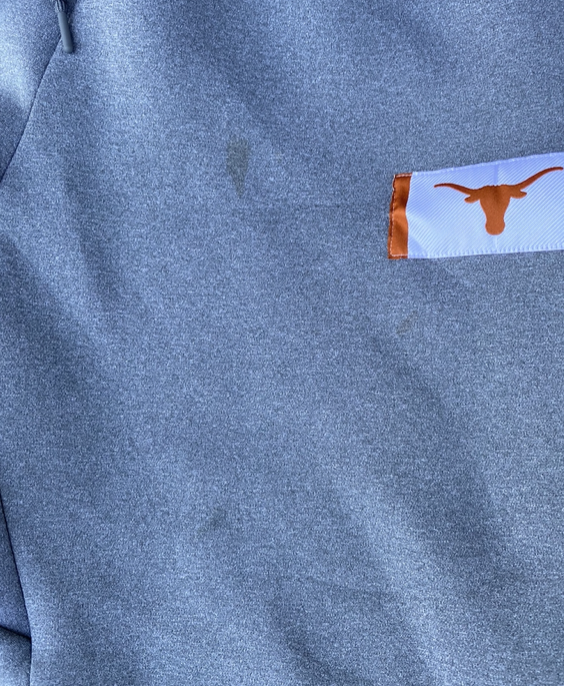 Blake Nevins Texas Team Issued Sweatpants with Magnetic Bottoms (Size XL)