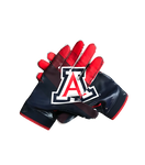 Cedric Peterson Arizona Nike Football Gloves (Size L)