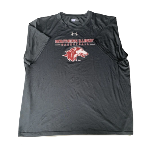 Barret Benson Southern Illinois Team Issued T-Shirt