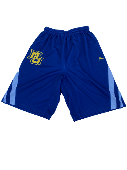 Sacar Anim Marquette Basketball Player Exclusive Practice Shorts (Size M)