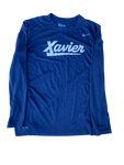 Naji Marshall Xavier Team Issued Long Sleeve Shirt (Size L)
