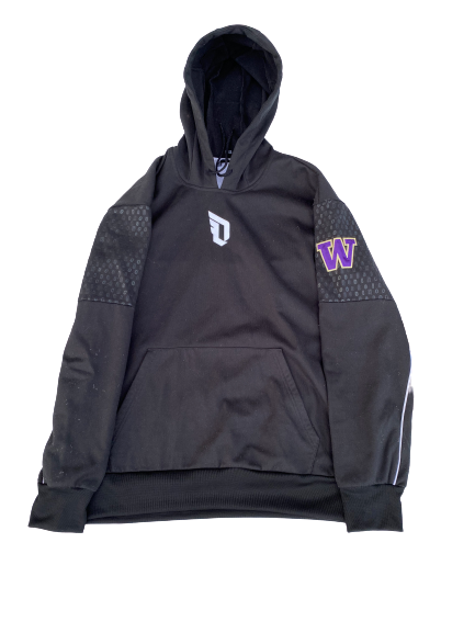 Nahziah Carter Washington Basketball Player-Exclusive Adidas Derrick Rose Travel Suit (Sweatshirt and Sweatpants)