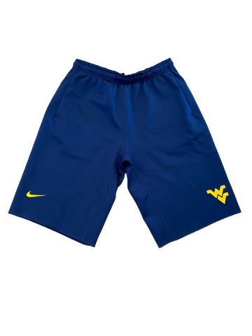 Austin Kendall West Virginia Nike Sweat Shorts (Size L)