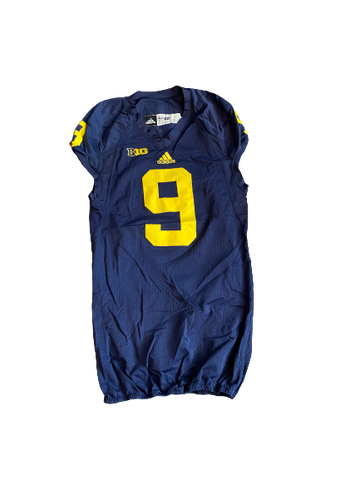 Mike McCray Michigan Football Game Worn Jersey