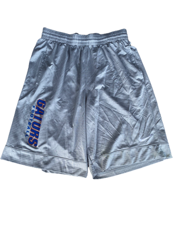 Nick Oelrich Florida Football Team Issued Workout Shorts (Size L)