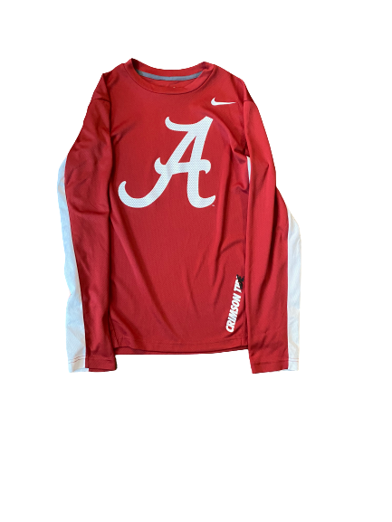 Hannah Cook Alabama Basketball Pre-Game Shooting Shirt (Size M)
