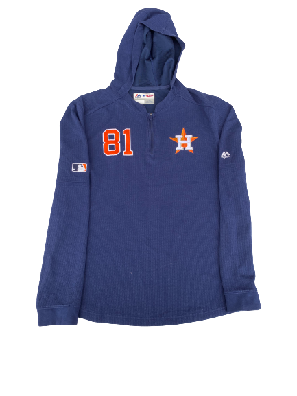 Nick Tanielu Houston Astros Player Exclusive Quarter-Zip (Size L)
