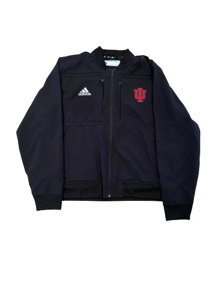 Cooper Bybee Indiana Basketball Team Exclusive Travel Jacket (Size L)