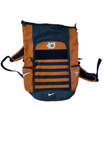 Tim Yoder Texas Football Team Issued KD Backpack with Player Travel Tag
