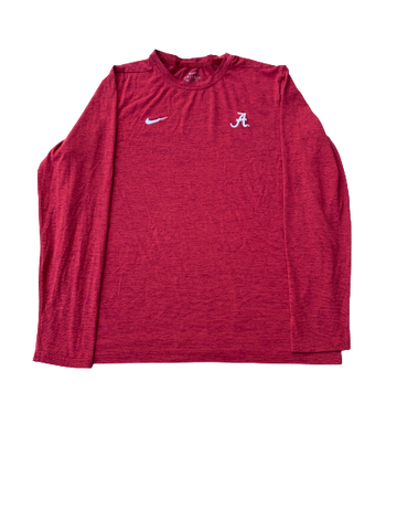 James Bolden Alabama Nike Long Sleeve (Size L)