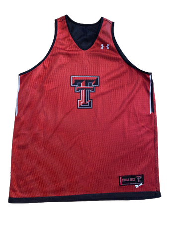 Tommy Hamilton Texas Tech Basketball Reversible Practice Jersey (Size L)