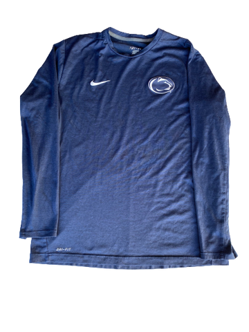 Ryan Sloniger Penn State Baseball Team Issued Long Sleeve Shirt (Size L)