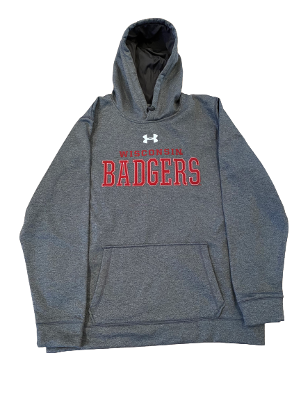 Khalil Iverson Wisconsin Basketball Under Armour Sweatshirt (Size XXL)