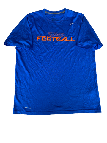 Mark Herndon Florida Football Team Exclusive Workout Shirt (Size L)