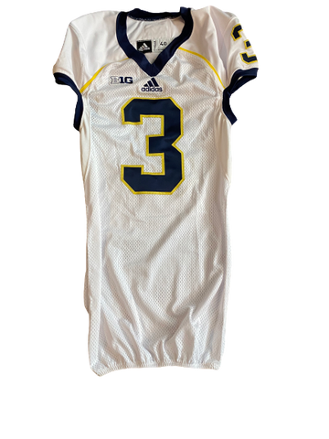 Mike McCray Michigan Team Issued Official Game Jersey