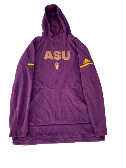 Zylan Cheatham Arizona State Team Issued Sweatshirt (Size XLT)