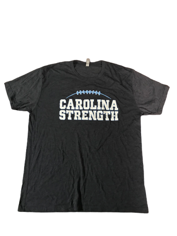 "Myles Dorn UNC Player Exclusive ""CAROLINA STRENGTH Power Club "" T-Shirt (Size XL)"