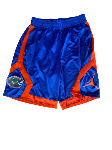 Nick Oelrich Florida Football Team Issued Shorts (Size L)