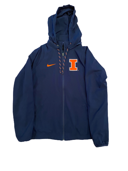 Annika Gereau Illinois Nike Zip-Up Jacket (Size Women's L)