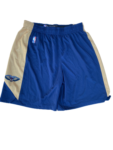 Zylan Cheatham New Orleans Pelicans Team Issued Practice Shorts (Size XL)