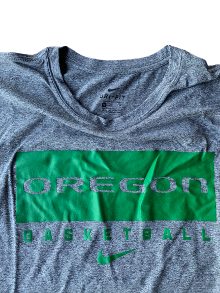 Shakur Juiston Oregon Basketball Nike Workout Tank (Size XL)