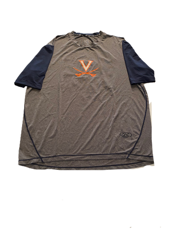 Noah Murdock Virginia Baseball Practice Shirt with Number on Back (Size XL)