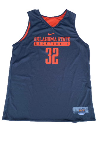 Curtis Jones Oklahoma State Reversible Practice Jersey (Size L)