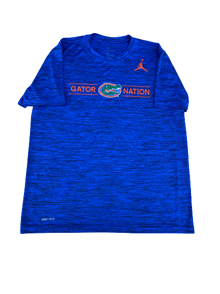 "Scottie Lewis Florida ""Gator Nation"" Jordan T-Shirt (Size L)"