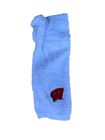 Cristian Volpentesta Wisconsin Football Game Towel