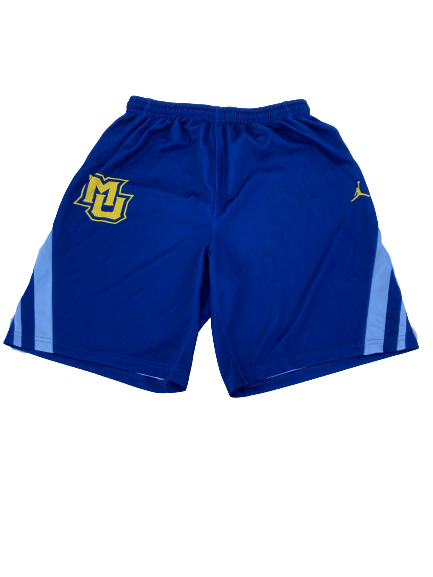 Sacar Anim Marquette Basketball Player Exclusive Practice Shorts (Size L)