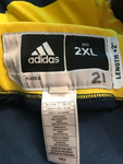 Zak Irvin Michigan Basketball Game Worn Shorts